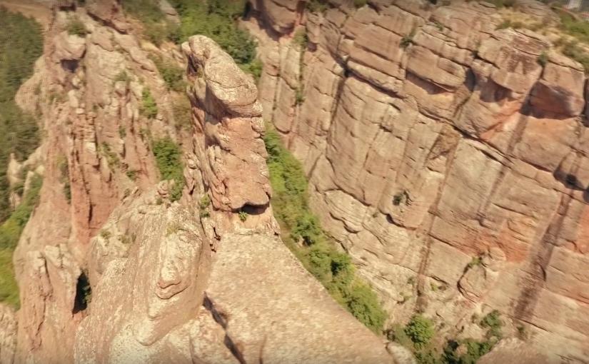 Белоградчишките скали – дронимпресия